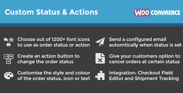 WooCommerce Order Status & Actions Manager - CodeCanyon Item for Sale