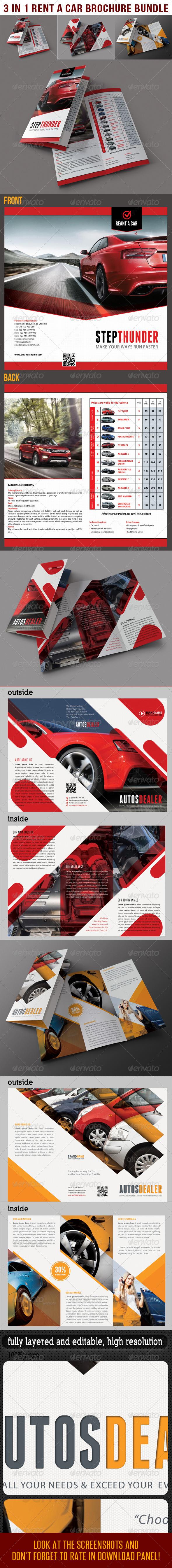 3 in 1 Rent A Car Brochure Bundle 03