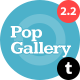 Pop Gallery Tumblr Theme Nulled