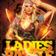 Ladies Battle Flyer Template PSD - GraphicRiver Item for Sale