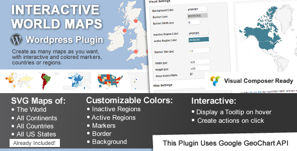 Interactive World Maps Nulled
