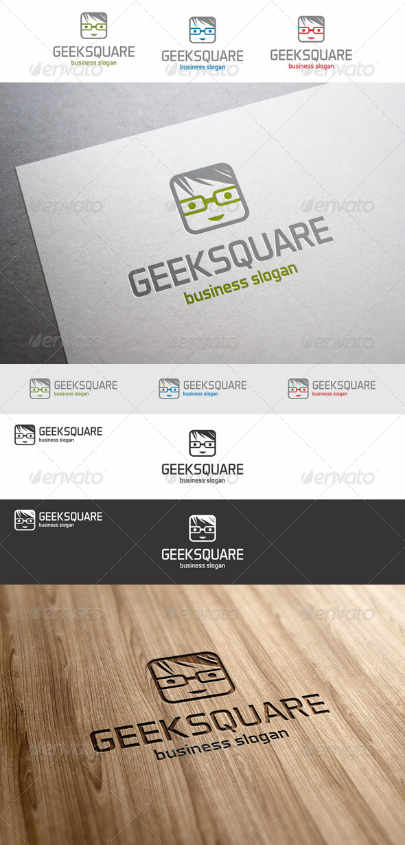 Geek Square Avatar Logo