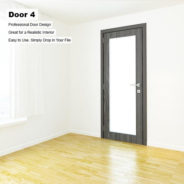 Door 4 - 3DOcean Item for Sale
