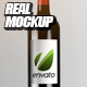 Real Mockup Wine Bottle 4 Sequences - VideoHive Item for Sale