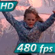 Children Running on the Road - VideoHive Item for Sale