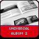 Universal Album 2 - GraphicRiver Item for Sale
