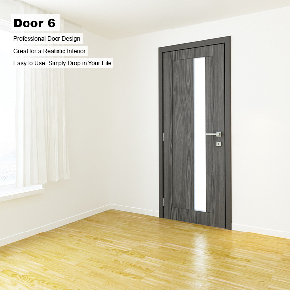 Door 6 - 3DOcean Item for Sale