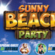 Sunny Beach Party Flyer Template - GraphicRiver Item for Sale