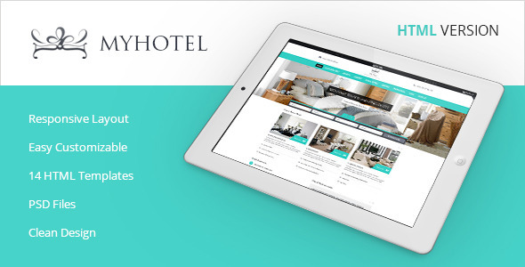 My Hotel – Online Hotel Booking Template
