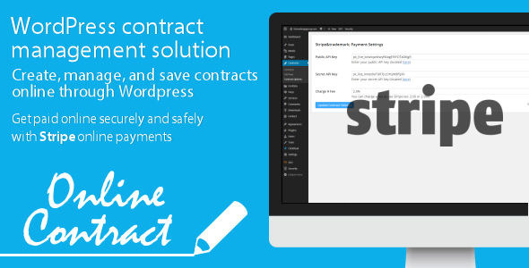 WP Online Contract Stripe Payments - CodeCanyon Item for Sale