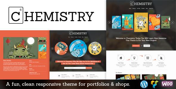 Chemistry – Responsive Portfolio & Shop WP Theme