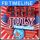 Fourth of July FB Timeline Cover Template - GraphicRiver Item for Sale