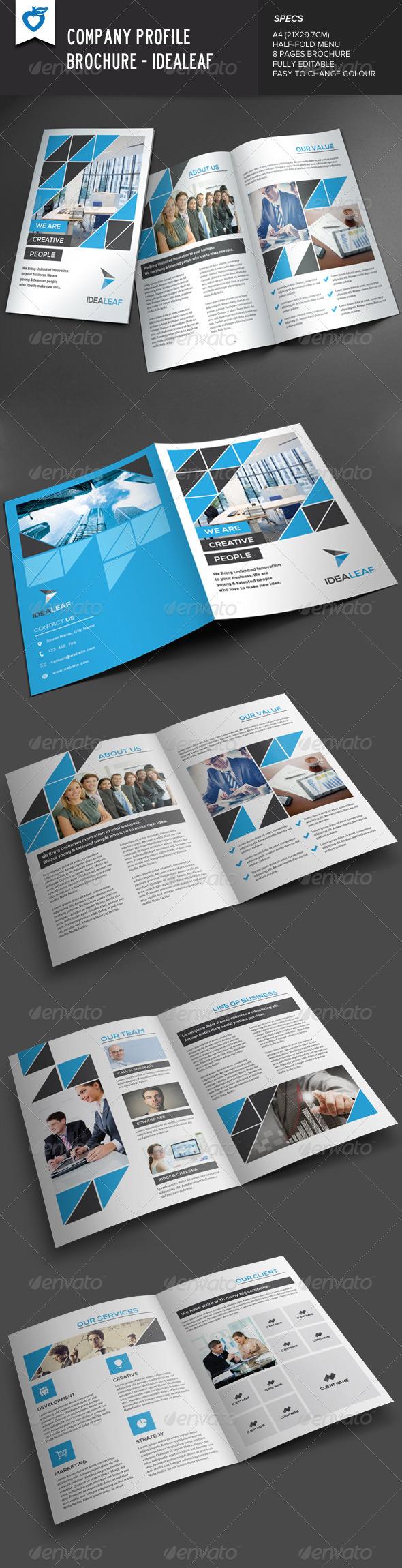 Company Profile By Leaflove Graphicriver
