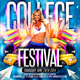 College Flyer 5 - GraphicRiver Item for Sale