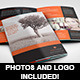 A5 Half-Fold Brochure (4 pages) - Photo Included - GraphicRiver Item for Sale
