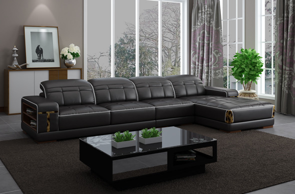 4 seat sofa - 3DOcean Item for Sale