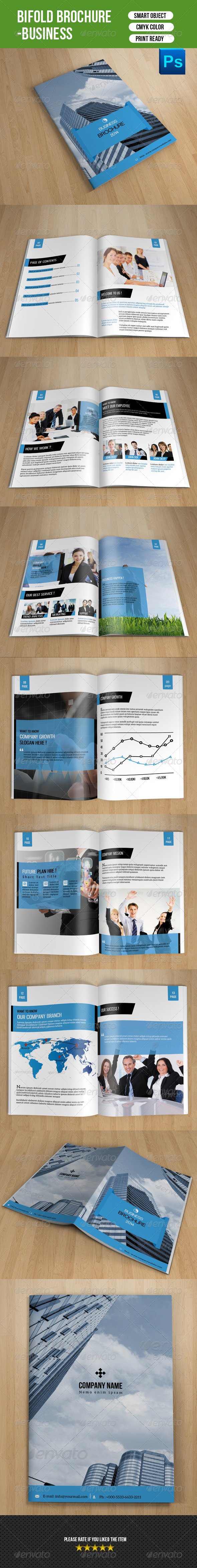 Bifold Business Brochure-V58 - Corporate Brochures