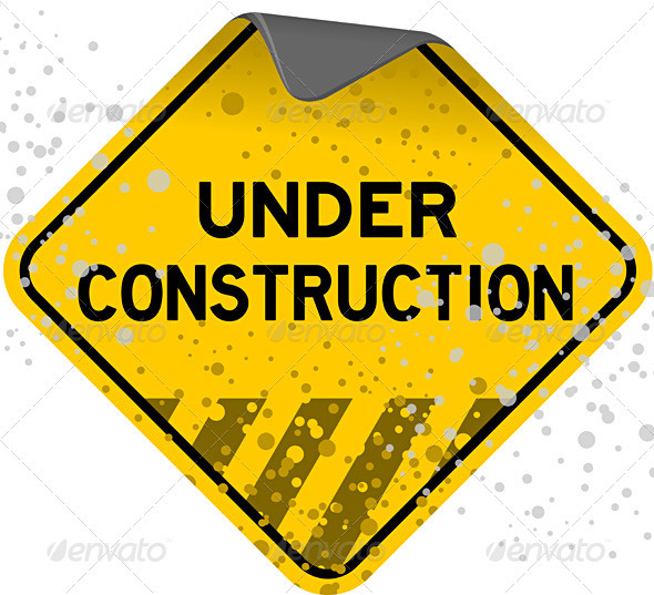 Dusty Under Construction - Objects Vectors