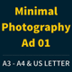 Get Minimal - Photography Ad Template 01 - GraphicRiver Item for Sale