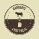 10 Barbecue Hipster Emblems - GraphicRiver Item for Sale