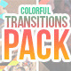 Colorful Shapes Transitions Pack - VideoHive Item for Sale