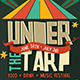 Under the Tarp Flyer and Facebook Cover - GraphicRiver Item for Sale
