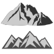 12 Mountain Shapes - GraphicRiver Item for Sale