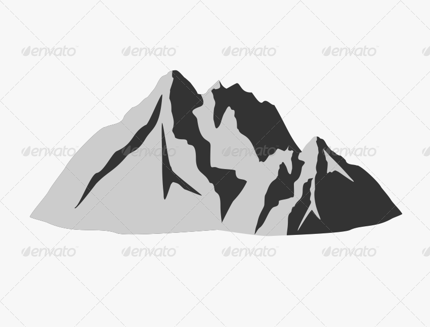 12 Mountain Shapes