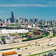 Busy Chicago - Aerial Footage - VideoHive Item for Sale