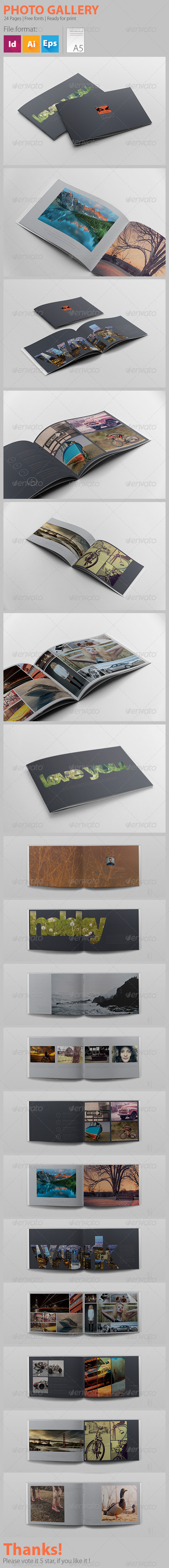 Photo Gallery - Brochures Print Templates