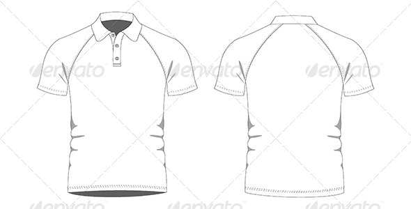 Mens Polo Shirts Template by FizZas20 | GraphicRiver