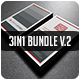 3IN1-BUSINESS CARD BUNDLE V.2 - GraphicRiver Item for Sale