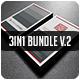 3IN1-BUSINESS CARD BUNDLE V.2 - GraphicRiver Item for Sale