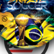 Brazil Soccer Flyer Template - GraphicRiver Item for Sale