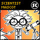 Hand Drawn Scientist Mascot - GraphicRiver Item for Sale