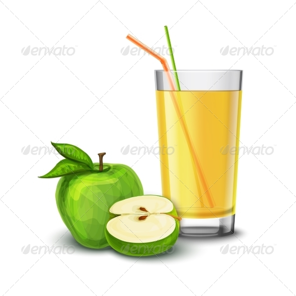 Apple Juice Glass