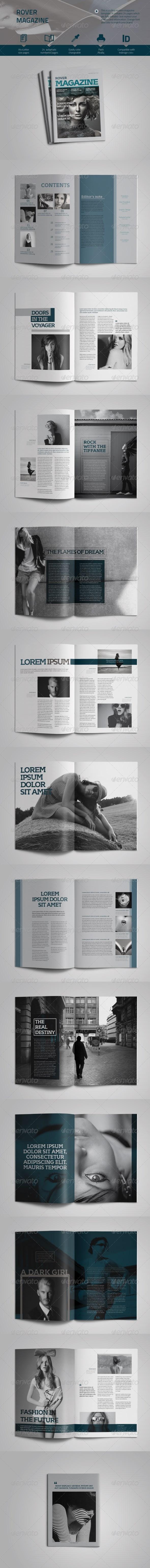 Rover Magazine Vol.1 - Magazines Print Templates