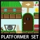 Platformer Game Tileset Forest Theme - GraphicRiver Item for Sale