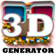 Real 3D Anaglyph: Text, Shape, Wallpaper Generator - GraphicRiver Item for Sale