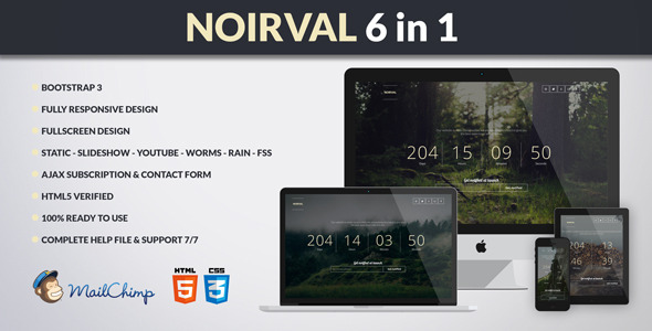 NOIRVAL - Classy 6 in 1 Coming Soon by Madeon08