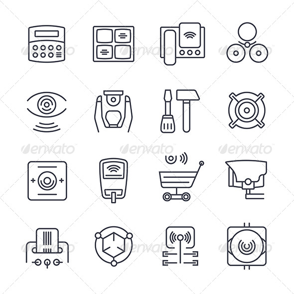 Security Icons - Technology Icons
