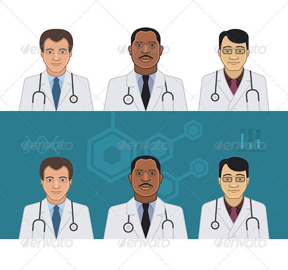 Doctors Avatars - Health/Medicine Conceptual