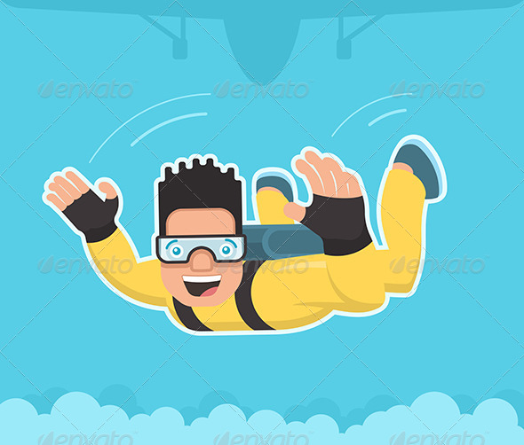 Skydiver - Sports/Activity Conceptual