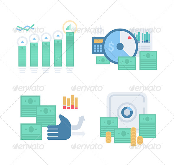 Money and Finance Concept - Business Conceptual