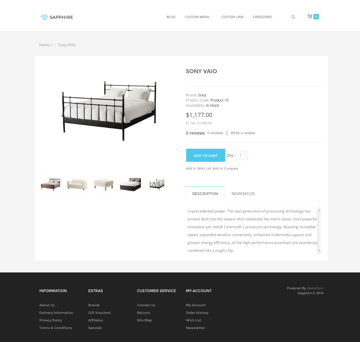 sapphire bootstrap 3 ecommerce template by nicole 89 themeforest. Black Bedroom Furniture Sets. Home Design Ideas