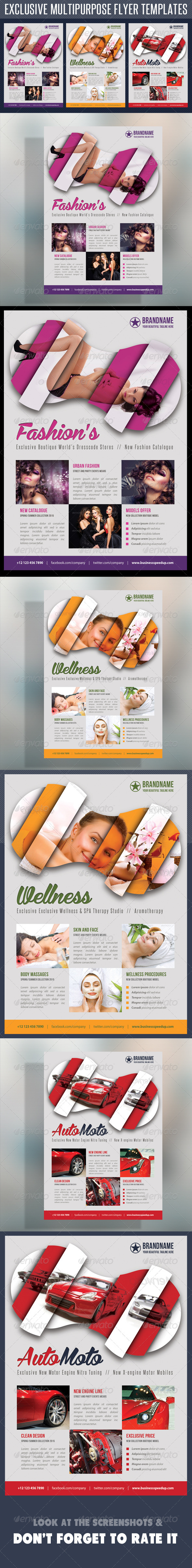 Multipurpose Product Flyer V05 - Corporate Flyers