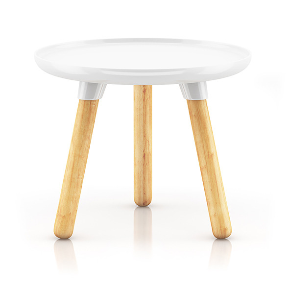 Small Round Coffeetable - 3DOcean Item for Sale