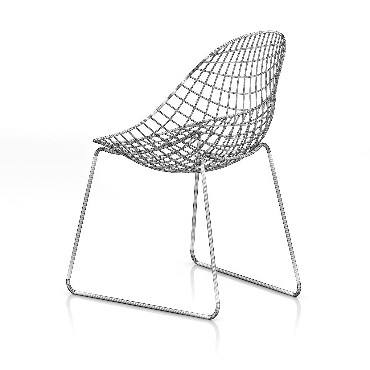 Charmant Metal Mesh Chair