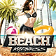 Summer Beach Madness Flyer Template - GraphicRiver Item for Sale