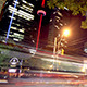 Night Traffic in Downtown Toronto - VideoHive Item for Sale